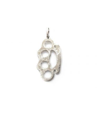 Bandana knuckles necklace