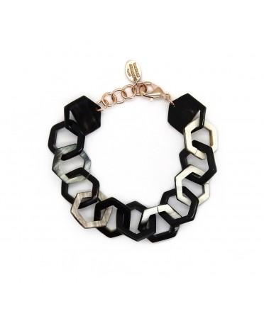 """Passion"" horn bracelet"