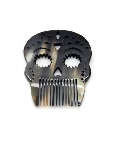 Skull Comb  -Dark horn