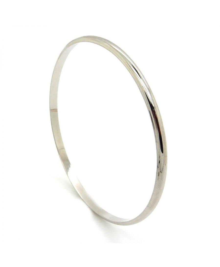 Bracelet jonc lisse - Palladié