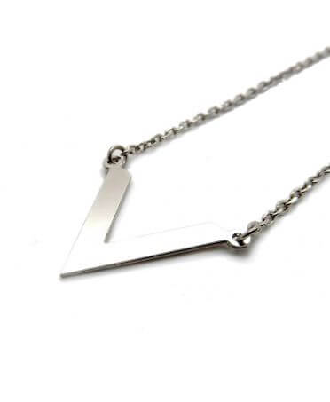 Vega necklace - Palladium