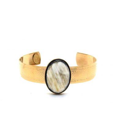 Leopoldine cuff bracelet