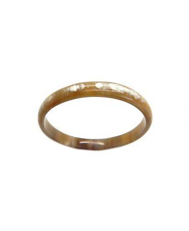 Horn bangle bracelet 10mm