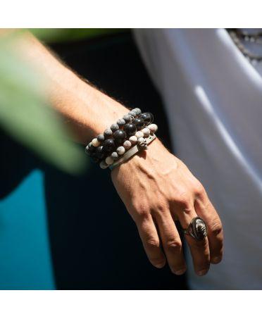 Bracelet Alvin-10mm polies