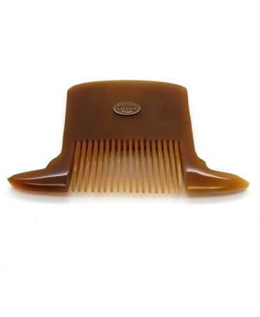 Peigne chapeau haut de forme- corne claire