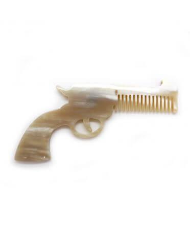 Peigne Russian Revolver - corne claire