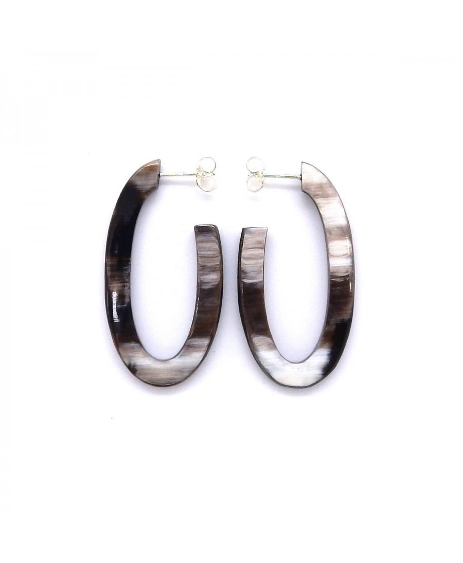 Boucles d'oreilles tige GM- Emotion